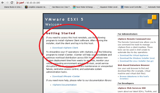 Client Can Download Photos After Payment: How To Create A Virtual Machine In ESXi 5 Server Using