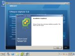 We have now complete the installation of vCenter Server.  vSphere client is required to connect the vCenter Server.  In our lab we will use the same vSphere Client which is installed on Host OS (Windows-7) to connect this server.  3rd tutorial is now over, we will use the vCenter Server to manage our hosts and for important features of vSphere like, vMotion, HA, DRS etc, in upcoming tutorials.